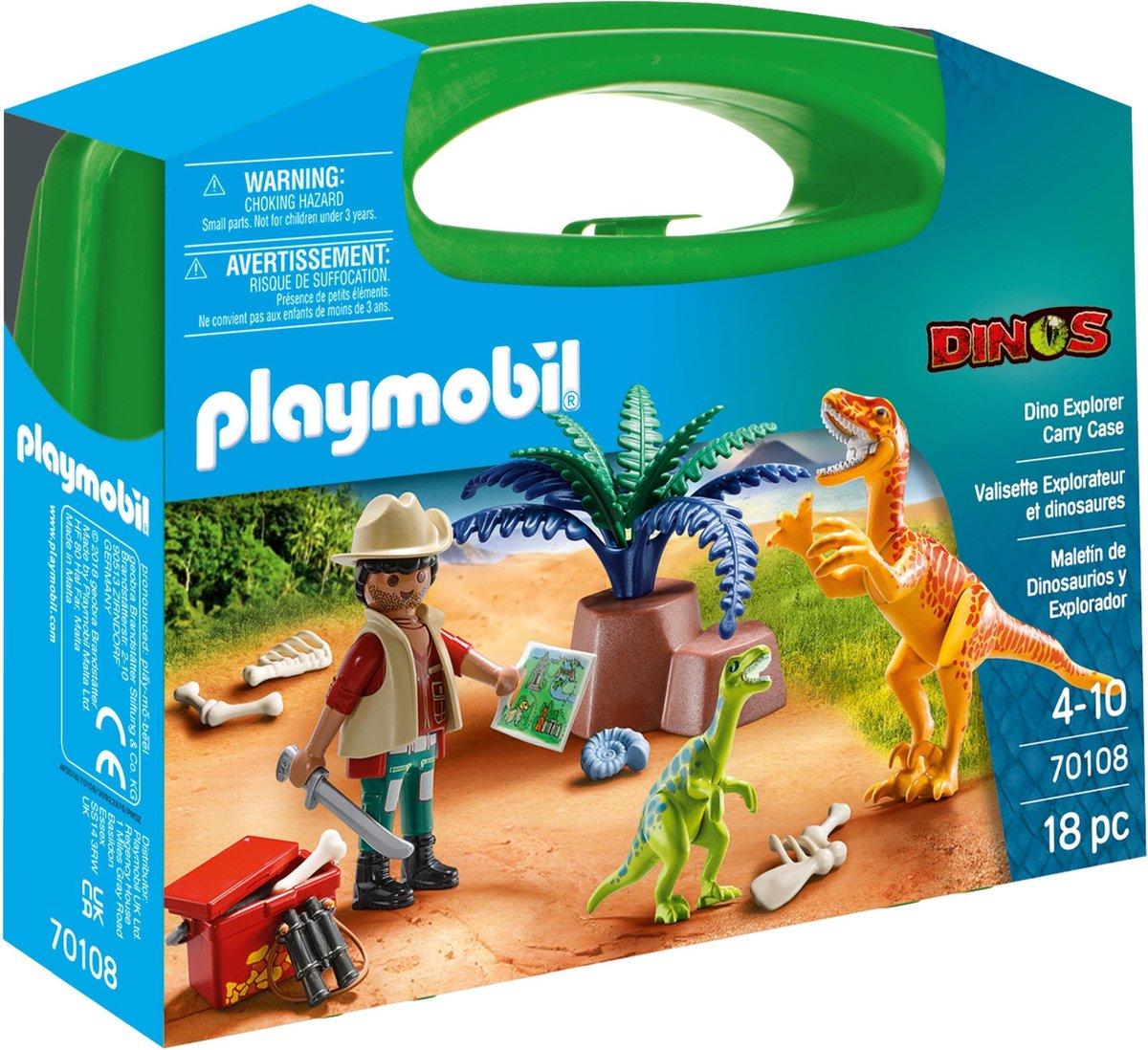 PLAYMOBIL Dinos Koffertje - 70108