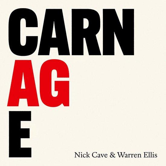 CD cover van Carnage van Nick Cave