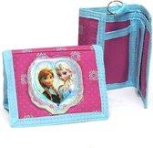 Frozen Portemonnee Meisjes 10 X 13 Cm Polyester Roze/blauw