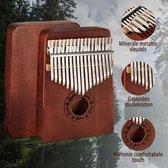 Kalimba - Kalimba Muziekinstrument - Duimpiano - 17 Tonen -  Hout design