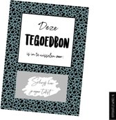 Tegoed - Tegoedbon - DIY kraskaart - Inclusief Kraft envelop - Cadeaubon Kleur