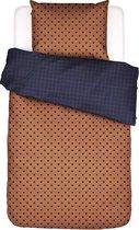 Covers&Co dekbedovertrek  Turn Over hazel - 2-persoons (200x200/220 cm incl. 2 slopen)