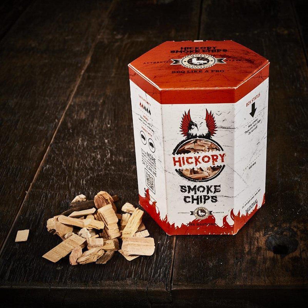Smokey Goodness Feathers on Fire Smoke Chips Blend / Hickory Smoke Chips / Oak Smoke Chips / Beech Smoke Chips