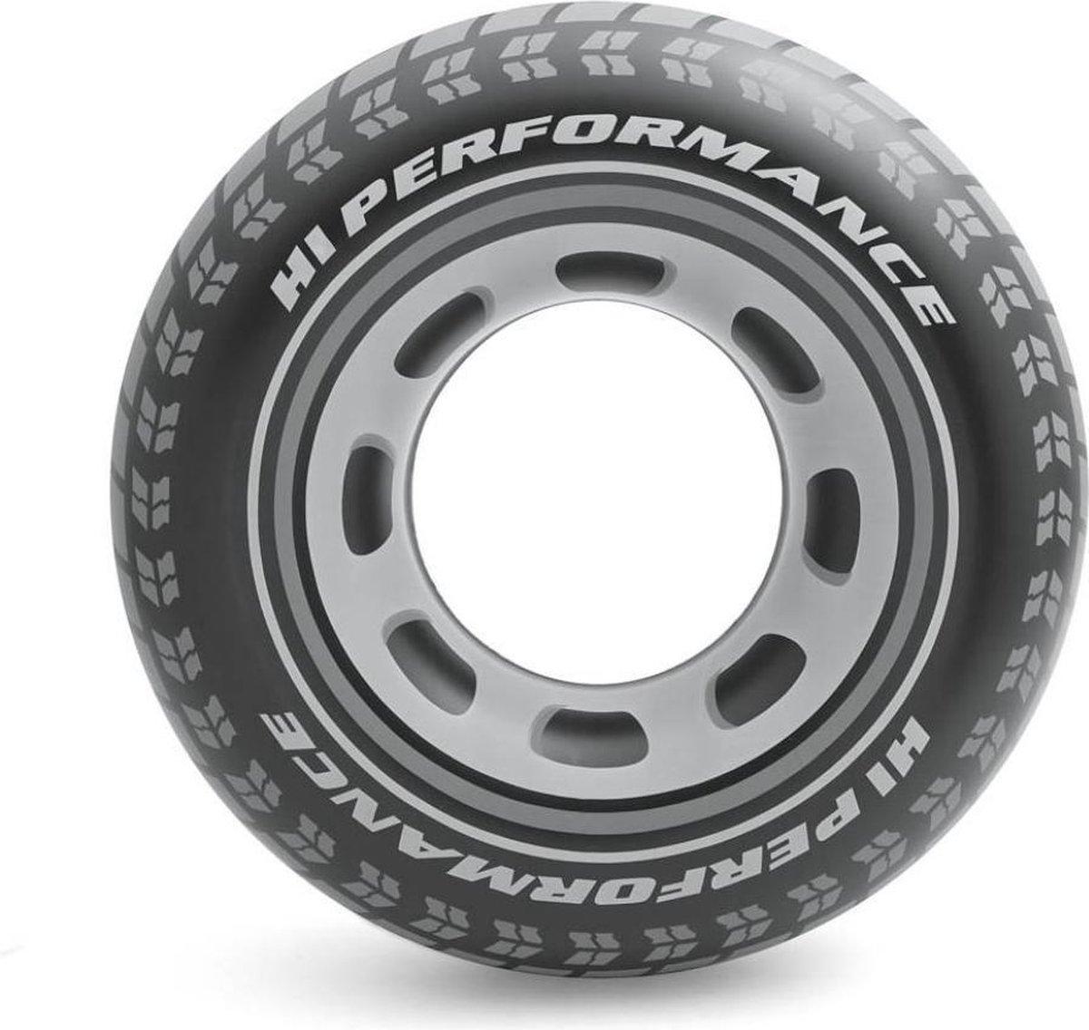 Intex Zwemband Autoband - 91cm - Opblaasbaar - Met Veiligheidsventiel