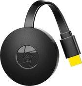Wifi Anycast alternatief voor Chromecast - Draadloze TV dongel 2,4 Ghz - Media Streamer - TV stick - HDMI - Geschikt voor tablet, telefoon en laptop