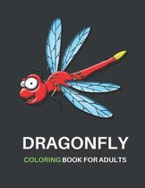 Dragonfly Coloring Book for Adults