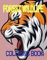 Forest Wildlife Coloring Book
