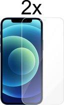 iPhone 12 Screenprotector - Beschermglas iPhone 12 Screen Protector Glas - 2 stuks
