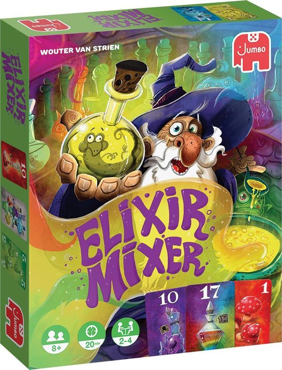 Jumbo Elixer Mixer - Kaartspel