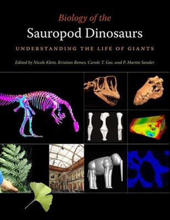 Boek cover Biology of the Sauropod Dinosaurs van Oliver Wings (Hardcover)