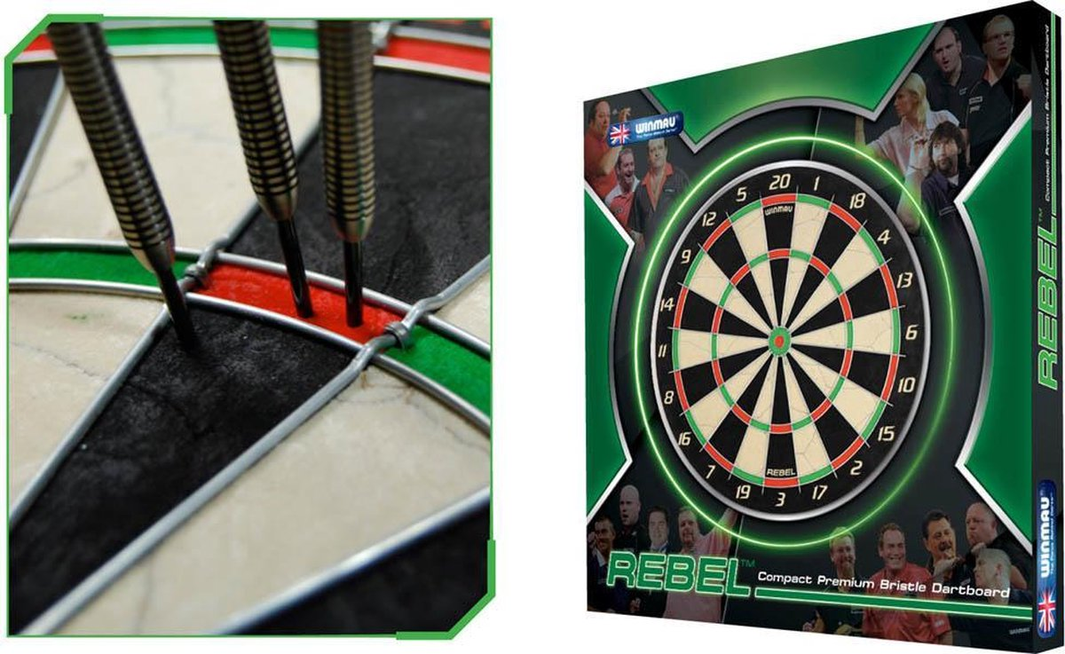 Winmau Dartbord Rebel