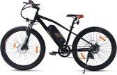 SachsenRAD E-Racing Mountainbike  R6 groot 28 inch frame, 7 versnellingen, 250 Watt Motor, 2021 Editie met extra grote 400WH batterij  Shimano Tourney TX 7-gang-Schaltung, borstelloze motor van Shengy