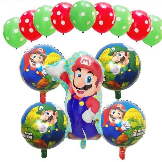 Super Mario - Luigi - ballon set - thema - ballonnen -