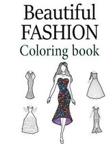 Beautiful Fashion Coloring Book