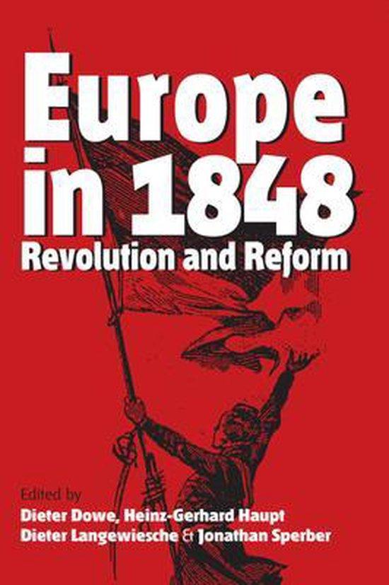 Boek cover Europe in 1848 van Dieter Dowe (Hardcover)