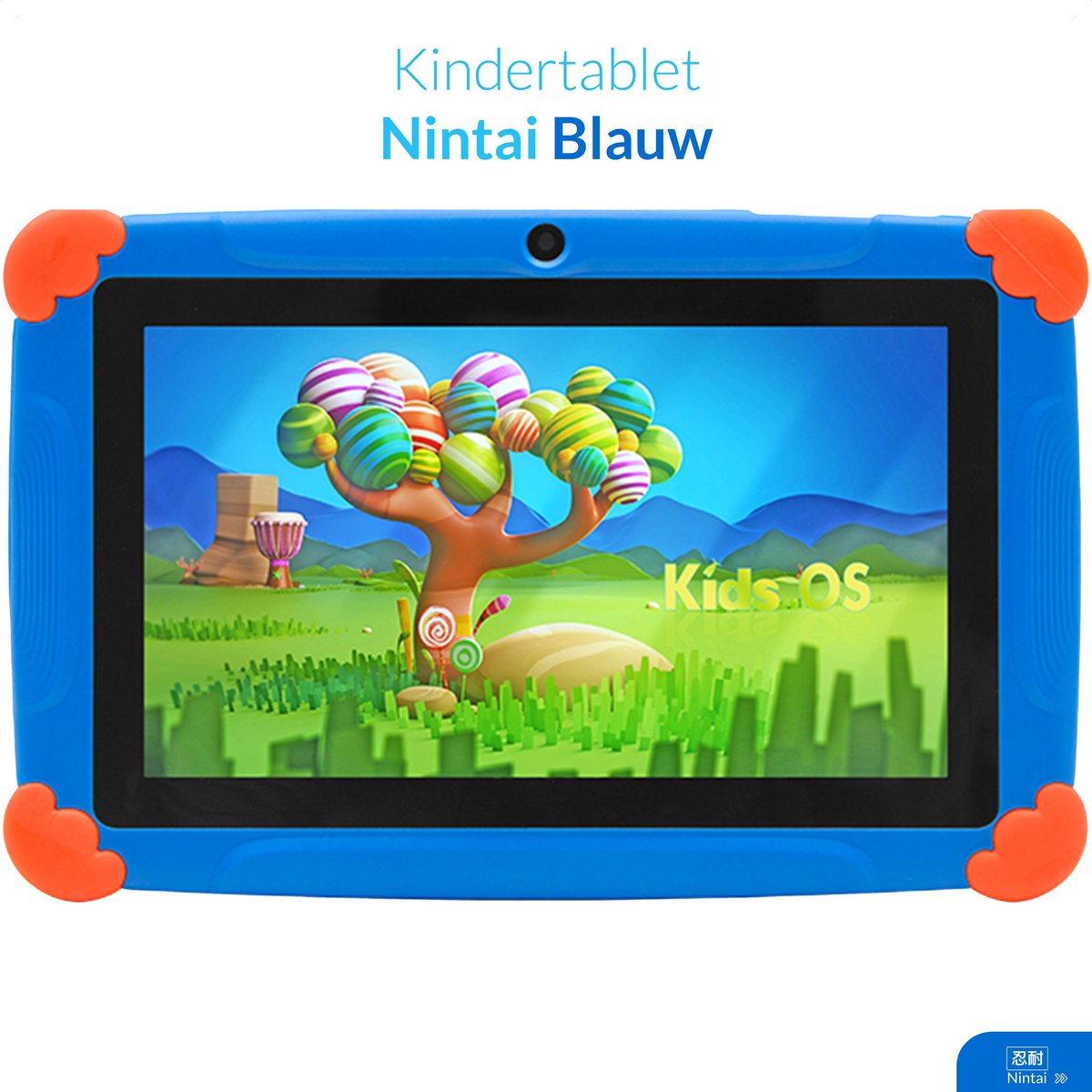 Kindertablet vanaf 4 jaar - 7inch - Kinder tablet - Blauw