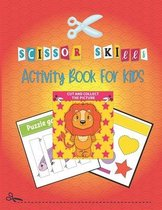 Scissor Skills Activity Book For Kids