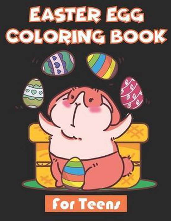 Easter Egg Coloring Book for teens