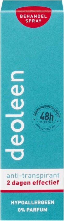 Deoleen - Behandelspray Anti-transpirant - 25 ml