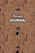 Recipe Journal: Blank Cookbook, Recipes Organizer Notebook, Great for 100 Recipes, Recipe Book to Write in Your Own Recipes, White Pap