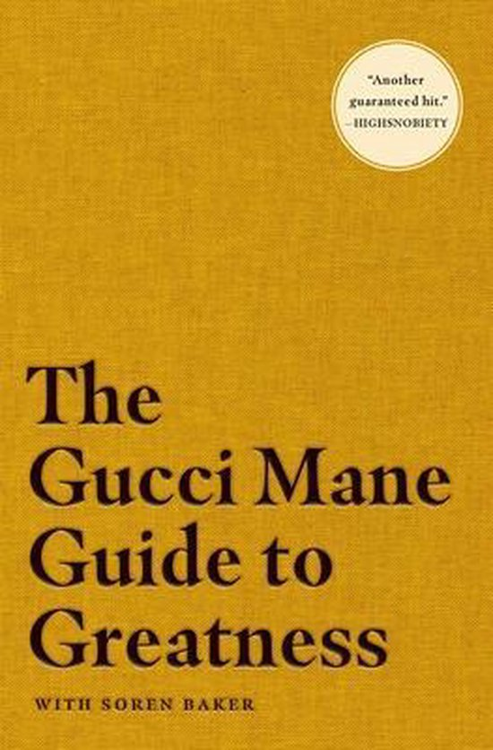 Boek cover The Gucci Mane Guide to Greatness van Gucci Mane (Paperback)