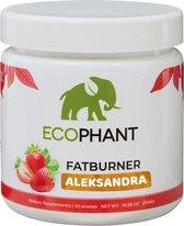 Ecophant Fatburner Stimuleert vetverbranding en remt het hongergevoel -100% Verantwoord Afvallen - 300 g Strawberry