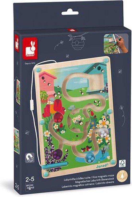 Afbeelding van het spel Janod Magneetspel Magnetisch Doolhof Bijenkorf