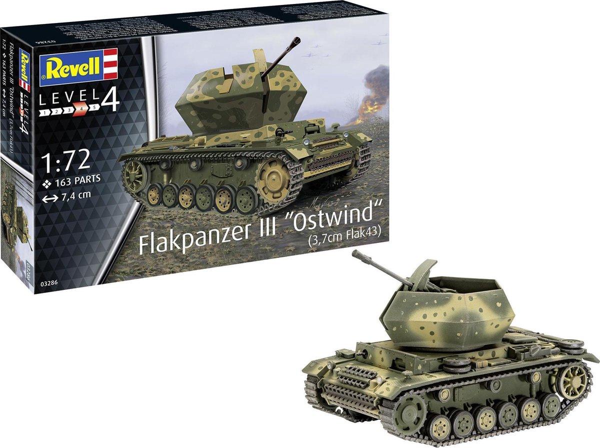 REVELL 1:72 Flakpanzer111 Ostwind