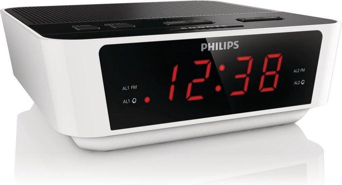 Philips AJ3115 - Wekkerradio - Wit