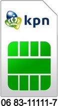 06 83-11111-7 | KPN Prepaid simkaart | Mooi en makkelijk 06 nummer | Top06.nl