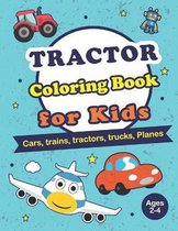 Tractor Coloring Books for Kids Ages 2-4