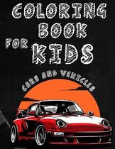 Coloring Book for kids Cars And Vehicles