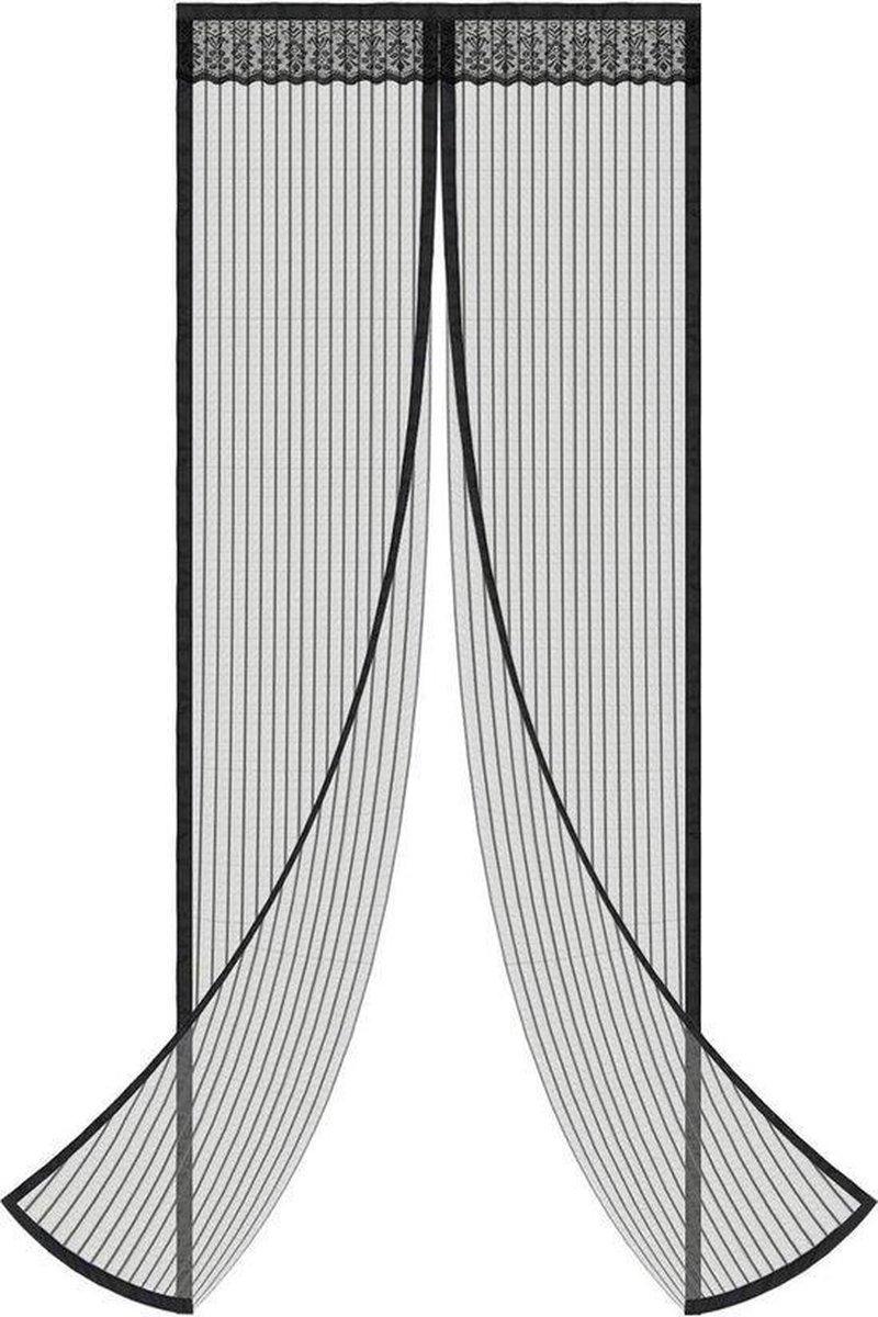 LUMEXX Vliegengordijn - Magnetisch - 90x210 cm - Hordeur - Horgordijn - Lamellenhor - Deurgordijn -
