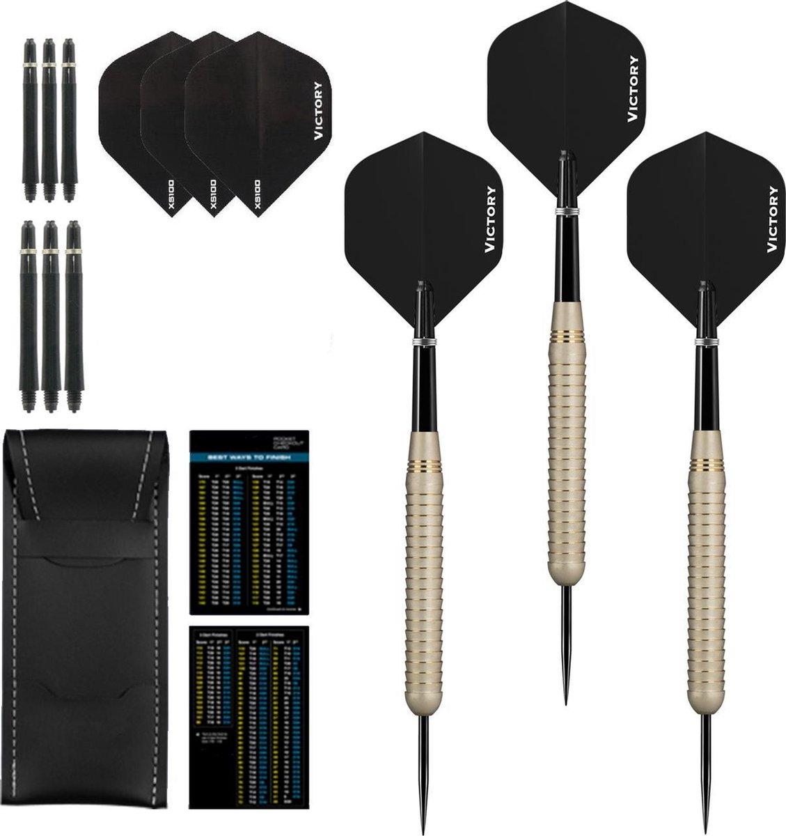 Dragon Darts White Shark - dartpijlen - dart shafts - dart flights - dartpijlen 24 gram