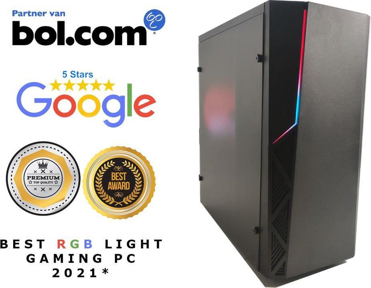 Super RGB light Game PC 2021 AMD PRO Quad core 2.4 Ghz / 16 GB RAM / GPU R4 DX11/ HDMI / WIFI / …