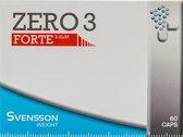 Svensson ZERO 3 forte - Afslanksupplement - eetlustremmer - 60 capsules