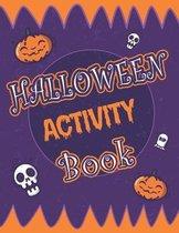 Halloween Activity Book: Halloween Activity Book