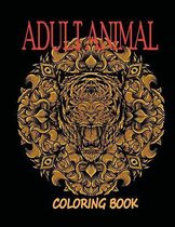 Adult Animal Coloring Book