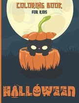 Halloween Coloring Book For Kids