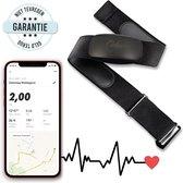 Lidoma Hartslagmeter met borstband – Bluetooth – 400 uur Batterijduur – Activity and Fitness tracker – Hartslagband