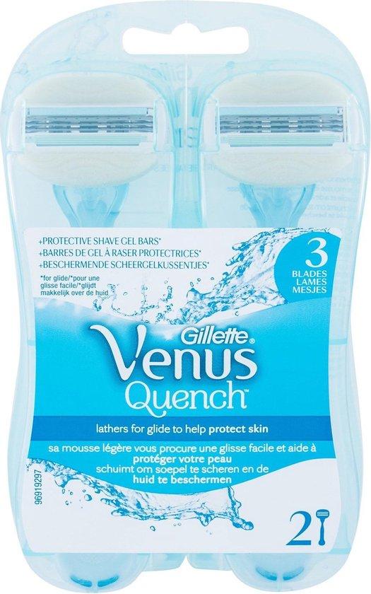 Gillette Venus Quench - 2 stuks - Wegwerpmesjes