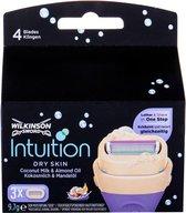 Wilkinson Sword - Intuition Dry Skin ( 3 ks ) - Náhradní břit