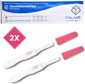 Telano Zwangerschapstest Midstream Extra Vroeg 2 stuks - Extra Gevoelig - 10 mIU/ml