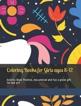 Coloring Books for Girls ages 8-12