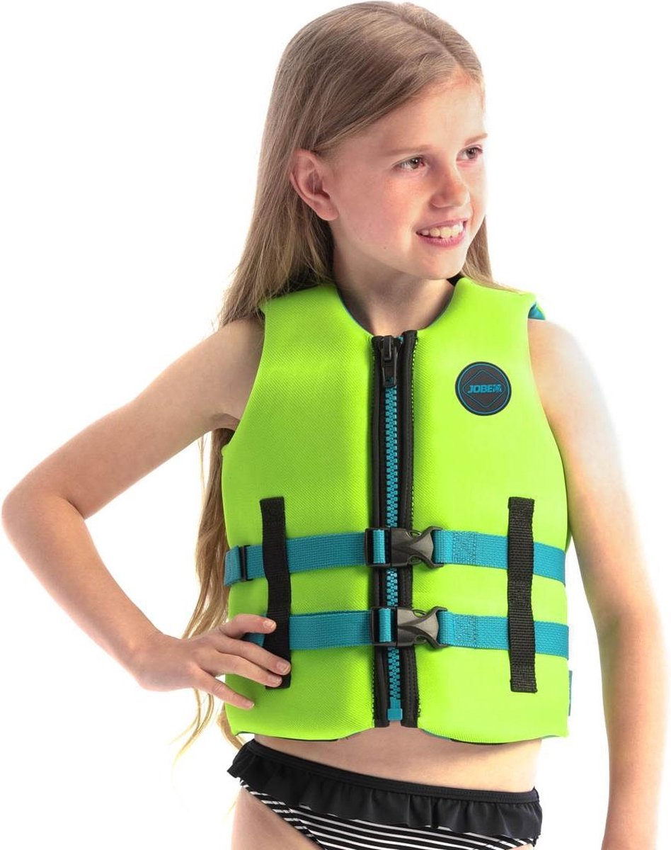 Jobe Neopreen Zwemvest Kinderen Groen