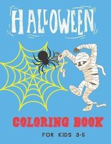 Halloween Coloring Book for Kids 3-5