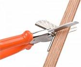 Mac Lean Plintenschaar Voor Plakplint - Verstektang - Verstekschaar - Plintenknipper - Verstekkniptang