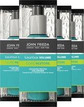 John Frieda Luxurious Volume Core Restore Volumiser - 4x 60 ml - Voordeelverpakking