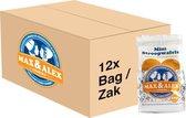 Max & Alex Mini Stroopwafels - Doos met 12 zakjes van 200 gram - 240 koekjes
