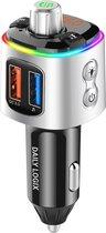 Bluetooth Receiver FM Transmitter Autoradio Adapter Auto Accessories - Draadloze Carkit - USB Lader - Autolader - Mp3 Speler - Daily Logix®️